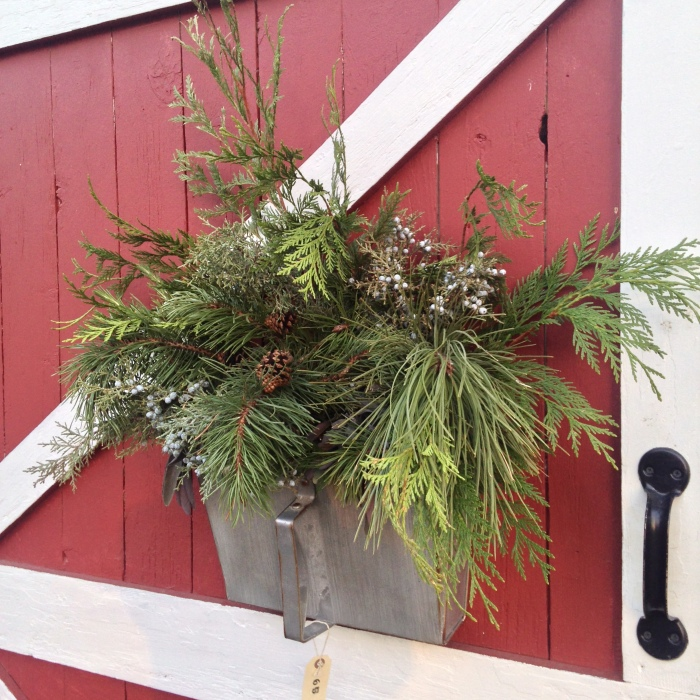 Christmas Green Arrangements